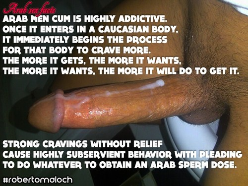 arab cock white pussy