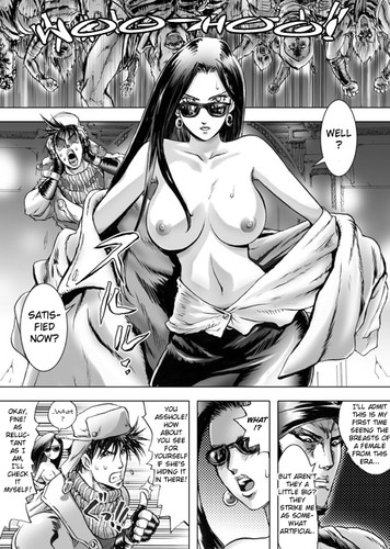 [KON-KIT] Jojo's Bizarre Adventure - Lisa Lisa the Showgirl (English Hentai)