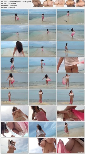 EWA SONNET – woalkapink fun on the beach