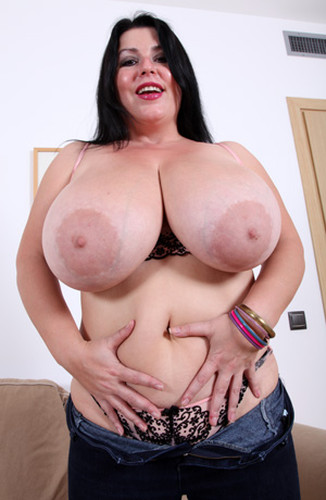 Natalie Fiore   Monstrous Tits fingering her pussy HD