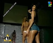 Daiana Antivero booty in shorts