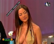Natalia Fassi hot sideboob view