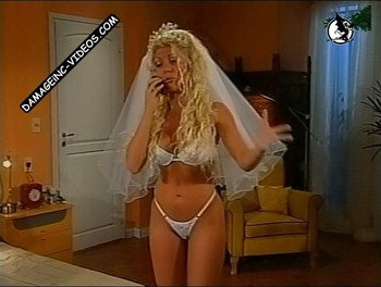 Monica Ayos hot body in white lingerie damageinc videos