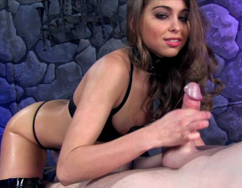 Miss Riley - Teased and Milked