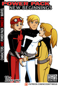 Exclusive comic by Incognitymous - New Beginnings Power Pack - 53 pages